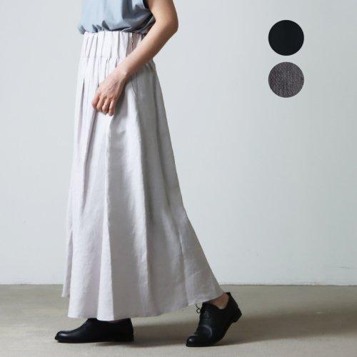 SI-HIRAI (スーヒライ) アートストライププリント ロングスカート