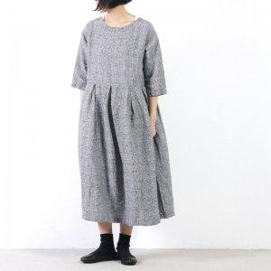 [THANK SOLD] style + confort (スティールエコンフォール) 1/40 リネン ギャザーワンピース