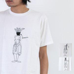YAECA (ヤエカ) Ken Kagami PRINT TEE / プリントTシャツ
