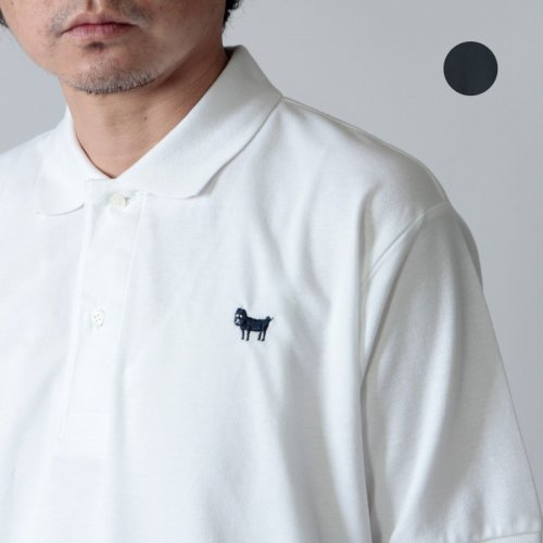 weac. (ウィーク) パグちゃんポロシャツ