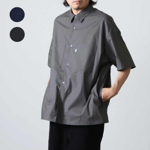 Graphpaper (グラフペーパー) Thomas Mason S/S B.D Shirt / トーマスメゾン ショートスリーブボタンダウンシャツ