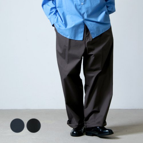 [THANK SOLD] Graphpaper (グラフペーパー) Stretch Typewriter Wide Cook Pants / ストレッチタイプライターワイドコックパンツ