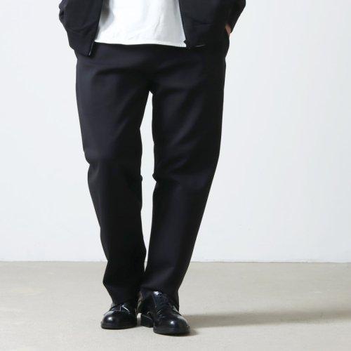 YAECA (ヤエカ) PIPED NARROW CHINO CLOTH PANTS / パイプドナローチノパンツ