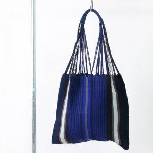 pips (ピップス) HAMMOCK BAG blue stripe / ハンモックバッグ ブルーストライプ