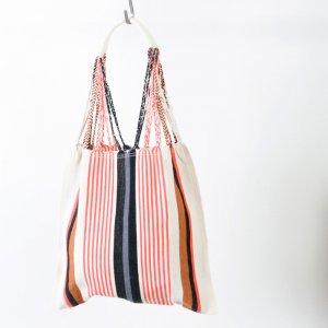 pips (ピップス) HAMMOCK BAG pink stripe / ハンモックバッグ ピンクストライプ