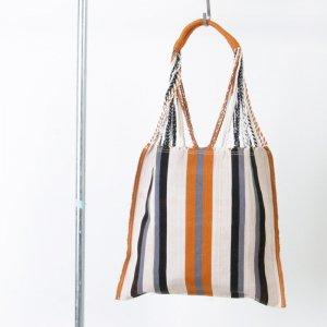 pips (ピップス) HAMMOCK BAG Brown stripe / ハンモックバッグ ブラウンストライプ