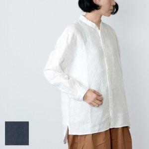 AUGUSTE PRESENTATION (オーギュストプレゼンテーション) リネンスタンドカラーシャツ
