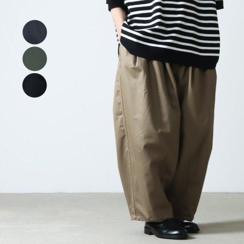 is-ness (イズネス) BALLOON EZ PANTS / バルーンイージーパンツ