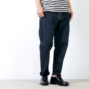 [THANK SOLD] Ordinary Fits (オーディナリーフィッツ) 5POCKET ANKLE DENIM black used / 5ポケット アンクルデニム ブラック ユーズド