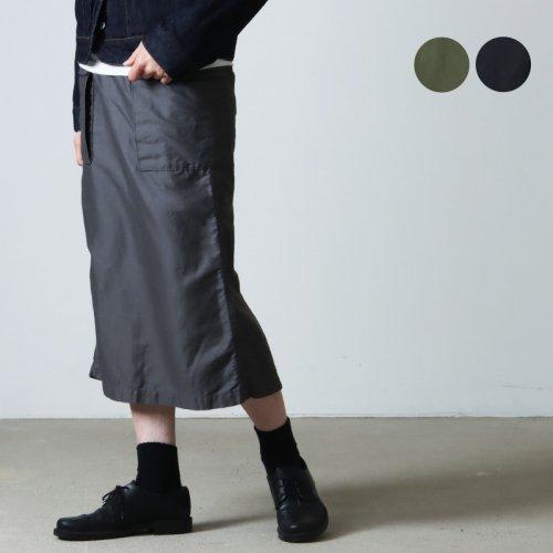 Graphpaper (グラフペーパー) Satin Pleats Skirt / サテンプリーツスカート
