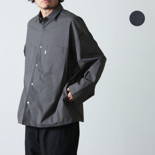 [THANK SOLD] Graphpaper (グラフペーパー) Band Collar Big Sleeve Shirt / バンドカラー ビッグスリーブシャツ