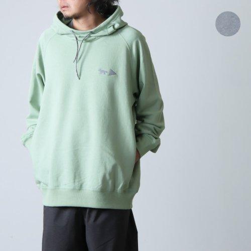 and wander (アンドワンダー) cotton reflect T for woman / コットンリフレクト Tシャツ レディース