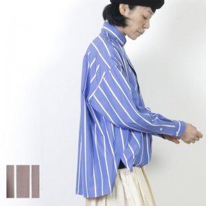 TICCA (ティッカ) スクエアビッグシャツ check&stripe