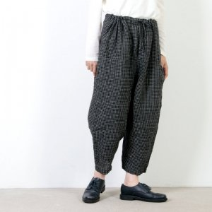jujudhau (ズーズーダウ) DIAPER PANTS CHECK / ダイアパーパンツ チェック
