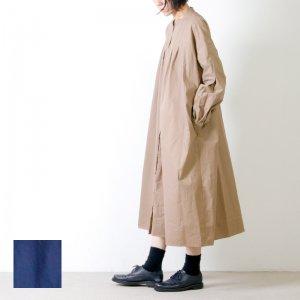 MidiUmi (ミディウミ) タックシャツワンピース
