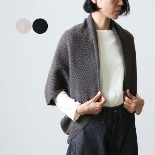 evameva (エヴァムエヴァ) Wool cotton ring bolero / ウールコットン リングボレロ