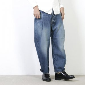 [THANK SOLD] Ordinary Fits (オーディナリーフィッツ) TACK 5P DENIM used / タック5ポケットデニム ユーズド