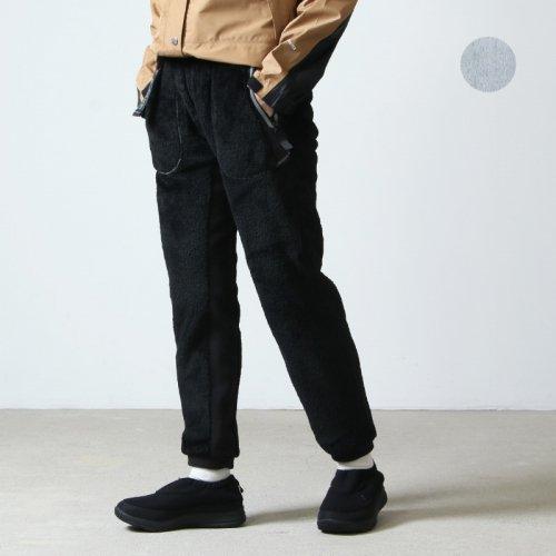 and wander (アンドワンダー) high loft fleece pants for woman / ハイロフトフリースパンツ レディース