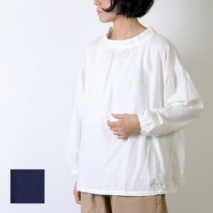 [THANK SOLD] style + confort (スティールエコンフォール) コットンフランネル プルオーバーブラウス