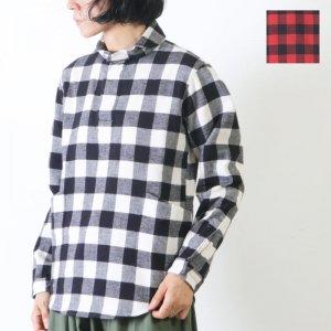 LOLO (ロロ) 定番プルオーバー型 バッファローチェックシャツ size:S
