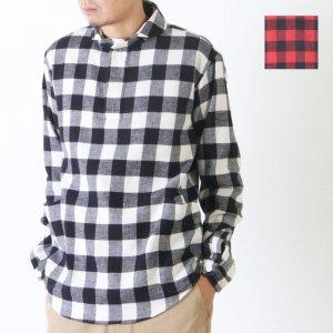 LOLO (ロロ) 定番プルオーバー型 バッファローチェックシャツ