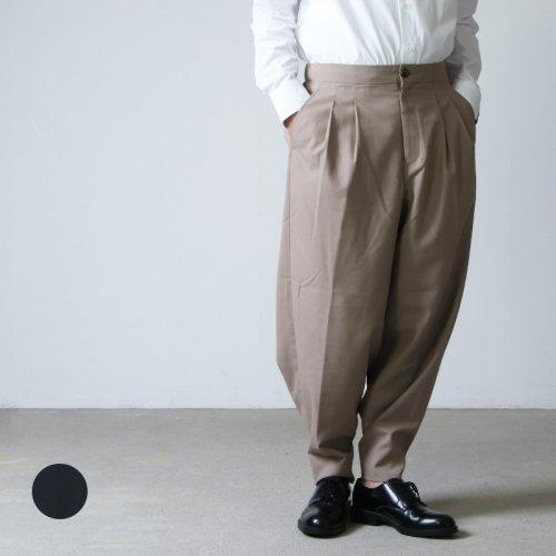 is-ness (イズネス) WIDE CHINO PANTS / ワイドチノパンツ