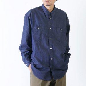 FUJITO (フジト) B/S Work Shirt / ビッグシルエットワークシャツ