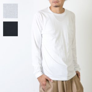 Hanes (ヘインズ) Crew Neck Long Sleeve