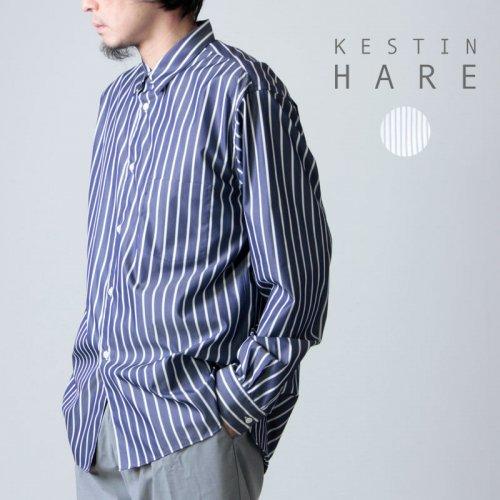 KESTIN HARE (ケスティンエア) LIVERPOOL SHIRT / オーバーサイズ ペーパータッチ ワーカーズシャツ
