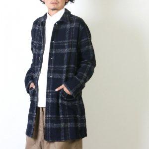 KESTIN HARE (ケスティンエア) SHOP COAT WOOL / タータンウールコート