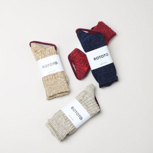 [THANK SOLD] RoToTo (ロトト) Cotton Thrmal Sock / コットン サーマル ソックス