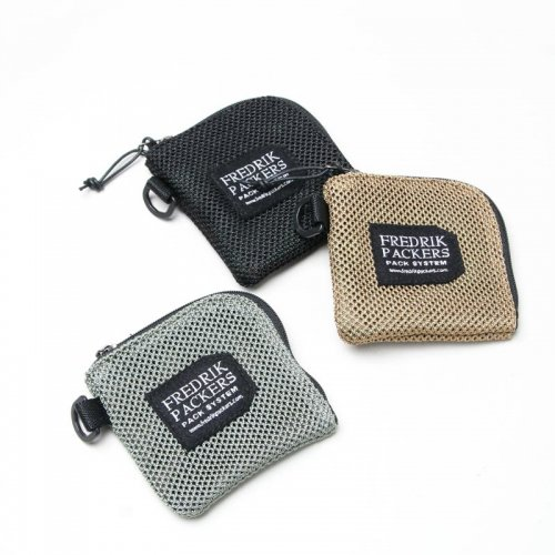 FREDRIK PACKERS (フレドリックパッカーズ) HEAVY MESH COIN CASE / ヘビーメッシュコインケース