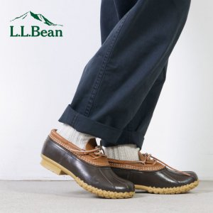 L.L.Bean (エルエルビーン) Women's Bean Boots Rubber Moccasins / レディース ビーンブーツ ラバーモカシン