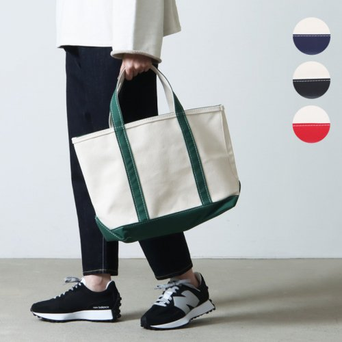 L.L.Bean (エルエルビーン) Boat and Tote Bag Midium Zip-Top / ボート アンド トート ミディアム ジップトップ