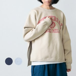 kha:ki (カーキ) サイドスリットスウェットシャツ