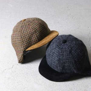 Hender Scheme (エンダースキーマ) tweed ear cap / ツイードイヤーキャップ