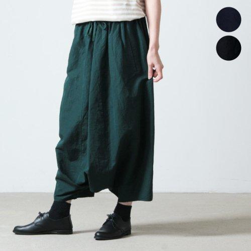 FACTORY (ファクトリー) バンブーウール タックリブスカート