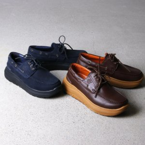 is-ness (イズネス) KASUTERA DECK SHOES is-ness×SUVSOLE / is-ness×SUVSOLE カステラデッキシューズ