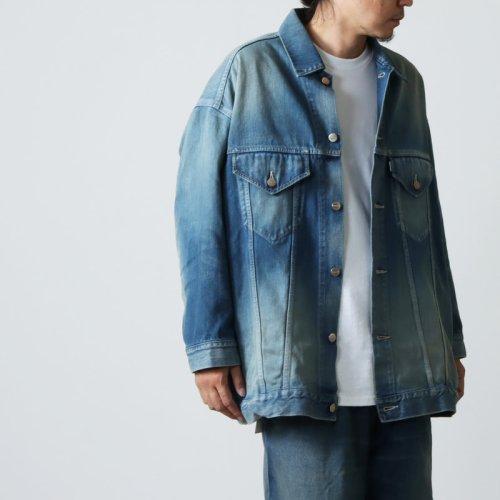 Graphpaper (グラフペーパー) Alpaca Shaggy Harrington Jacket / アルパカシャギー ハリントンジャケット