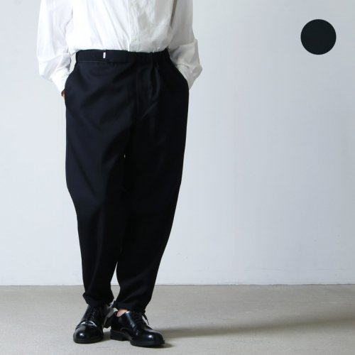 Graphpaper (グラフペーパー) Selvage Wool Cook Pants / セルヴィッジウール コックパンツ