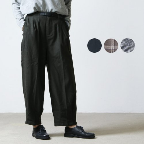 GRAMICCI (グラミチ) WOOL BLEND SOFT BALLOON PANTS / ウールブレンドソフトバルーンパンツ