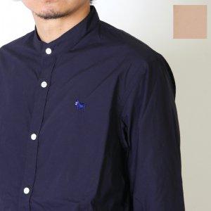 weac. (ウィーク) 別注パグちゃんスタンドカラーシャツ