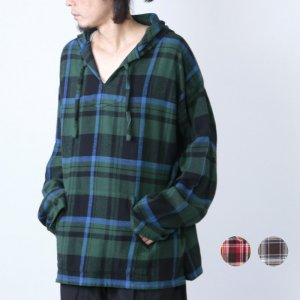 [THANK SOLD] South2 West8 (サウスツーウエストエイト) Mexican Parka - Cotton Twill / Plaid / メキシカンパーカー