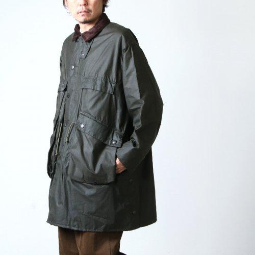KAPTAIN SUNSHINE (キャプテンサンシャイン) Made by Barbour Stand Collar Traveller Coat / スタンドカラートラベラーコート