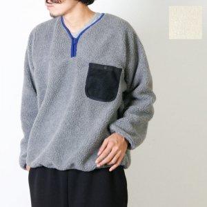 BAMBOOSHOOTS (バンブーシュート) Fleece Pullover Shirt / フリース プルオーバー シャツ #Men