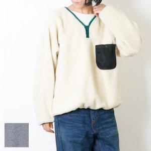 BAMBOOSHOOTS (バンブーシュート) Fleece Pullover Shirt / フリース プルオーバー シャツ #Women