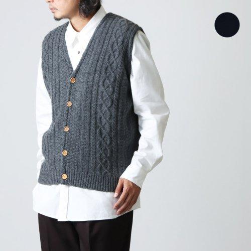[THANK SOLD] Soglia (ソリア) LANDNOAH Sweater Crazy Pattern / ランドノアセーター クレイジーパターン #Women