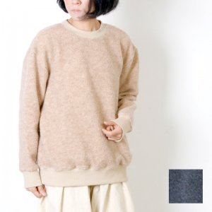[THANK SOLD] Commencement (コメンスメント) Wool pile l/s tee