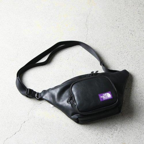 THE NORTH FACE PURPLE LABEL (ザ ノースフェイス パープルレーベル) Leather Waist Bag / レザーウエストバッグ
