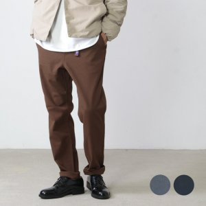 THE NORTH FACE PURPLE LABEL (ザ ノースフェイス パープルレーベル) Polyester Serge Field Pants / ポリエステルサージフィールドパンツ